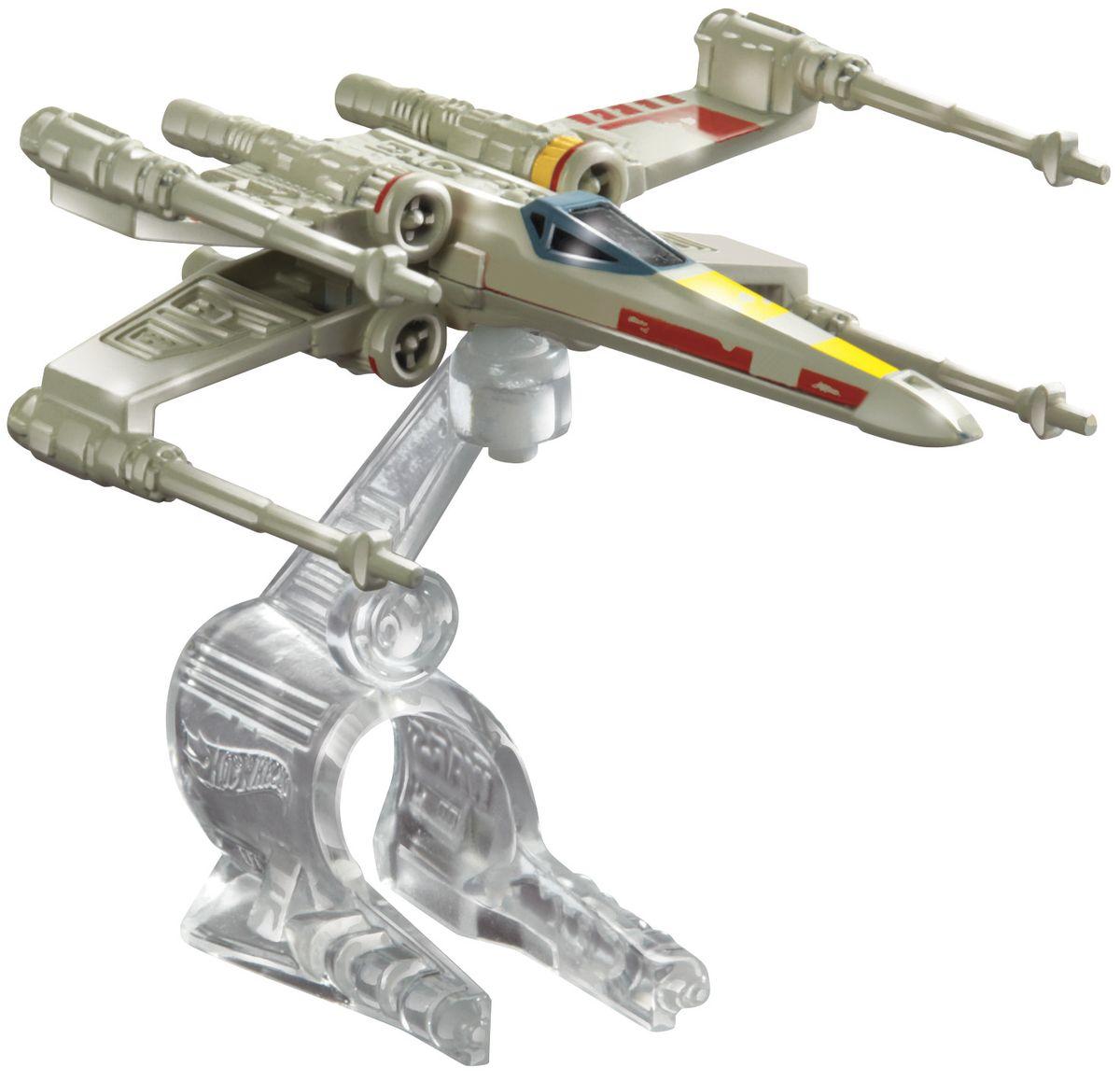 Hot Wheels Star Wars Звездный корабль Y-Wing Fighter Red 5CGW52_CGW67_CGW67Звездный корабль Hot Wheels Y-Wing Fighter Red 5 обязательно привлечет внимание поклонника фантастической саги Звездные воины. В комплекте звездный корабль и подставка. Надевайте на руку устройство Flight Navigator и запускайте корабль в полет по комнате, прямо как в гиперпространстве, или устраивайте яростные космические сражения. Flight Navigator можно также использовать как подставку для игрушек. Звездолеты совместимы с игровыми наборами Hot Wheels Star Wars (продаются отдельно).