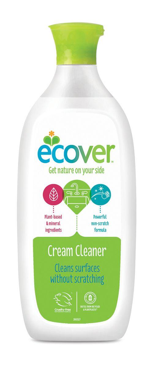 Экологическое чистящее средство Ecover, кремообразное, 500 мл00405Многофункциональный, эффективный и экологичный чистящий крем Ecover бережно, без царапин удаляет жир, накипь, пятна ржавчины, известковый налет, а также противодействует неприятным запахам. Рекомендован для чистки ванн, раковин, керамических плит, холодильников, подгоревших кастрюль, сковород, противней, шампуров и т.п. Подходит для мытья детских ванночек. Отлично смывается, не оставляя после себя химикатов. Не оказывает вредного влияния на кожу, безопасно при вдыхании, не вызывает аллергических реакций. Без запаха. Не содержит соединений хлора и других агрессивных веществ, без ароматизаторов. Уровень pH: 9.5. Подходит для использования в домах с автономной канализацией. Не наносит вреда любым видам септиков!