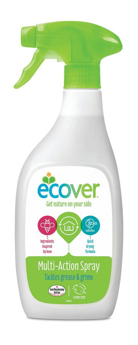 Экологический спрей Ecover для чистки любых поверхностей, 500 мл00461Экологический спрей Ecover может использоваться для всех поверхностей, а также как средство для стекол. Особенно подходит для чистки кухни и ванной, керамической плитки, эмали, акриловых и хромированных поверхностей. Очищает и придает блеск, не требует смывания, не оставляет после себя химикатов. Безопасен для применения вблизи продуктов питания. Не оказывает вредного влияния на кожу, безопасен при вдыхании, не вызывает аллергических реакций. Обладает приятным натуральным ароматом на основе растительных компонентов. Оснащен высокоэффективным распылителем с блокиратором ON/OFF. Не содержит соединений хлора и других агрессивных веществ, без синтетических ароматизаторов. Уровень pH: 8.25. Подходит для использования в домах с автономной канализацией. Не наносит вреда любым видам септиков!
