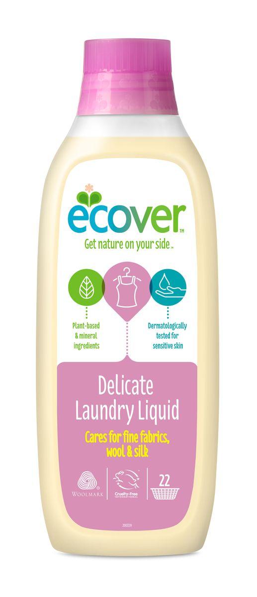 """Экологическая жидкость """"Ecover"""" для стирки изделий из шерсти и шелка, 1 л"""