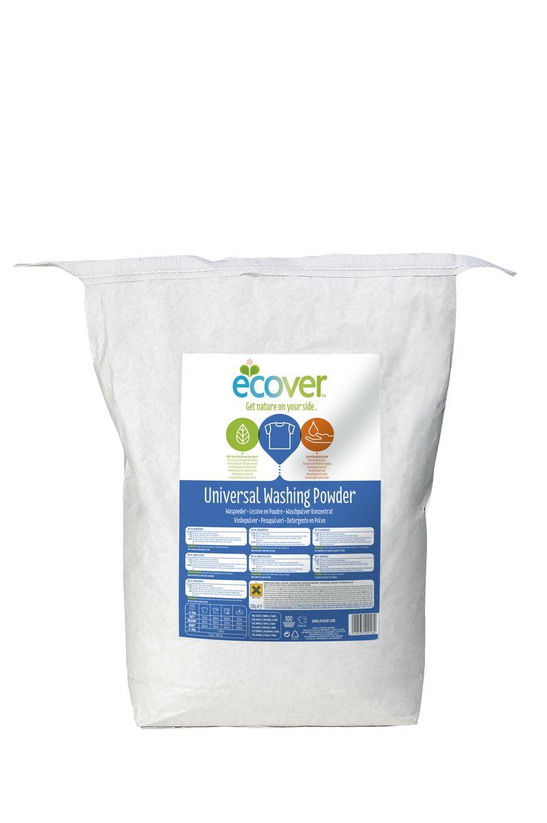 Экологический стиральный порошок Ecover, концентрат, универсальный, 7,5 кг