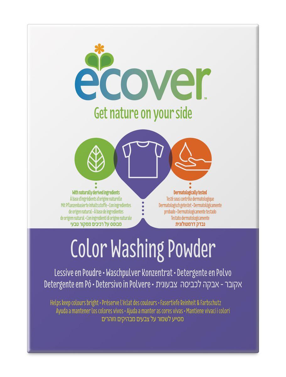 Экологический стиральный порошок Ecover, концентрат, для цветного белья, 1,2 кг40027Очень эффективный стиральный порошок-концентрат Ecover предназначен для стирки цветного белья. Подходит к использованию для детей от 2-х лет и взрослых. Порошок создан на основе растительных ПАВ. Улучшенная формула содержит небольшое количество бережного кислородного отбеливателя для удаления таких загрязнений как пятна от вина, фруктов, травы и т.д. Прекрасно выполаскивается. Новая формула средства позволяет использовать меньше порошка и обеспечивает на 25% больше стирок! При машинной стирке не требуется добавление средств для смягчения воды и предотвращения образования накипи (типа Calgon). Обладает легким натуральным ароматом. Не содержит фосфатов и синтетических ароматизаторов. Содержит энзимы (не ГМО) и натуральный кислородный отбеливатель. Подходит для использования в домах с автономной канализацией. Не наносит вреда любым видам септиков! Характеристики: Состав: 15-30% анионные био-ПАВ цеолиты, 5-15% неионные ПАВ, силикат натрия,...