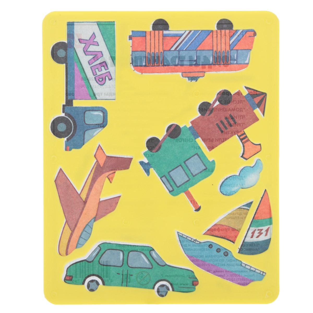 Трафарет прорезной Луч Виды транспорта10С 528-08Трафарет Луч Виды транспорта, выполненный из безопасного пластика, предназначен для детского творчества. По трафарету маленький художник сможет нарисовать наземные, воздушные и водные виды транспорта. Для этого необходимо положить трафарет на лист бумаги, обвести фигуру по контуру и раскрасить по своему вкусу или глядя на цветную картинку-образец. Трафареты предназначены для развития у детей мелкой моторики и зрительно-двигательной координации, навыков художественной композиции и зрительного восприятия.