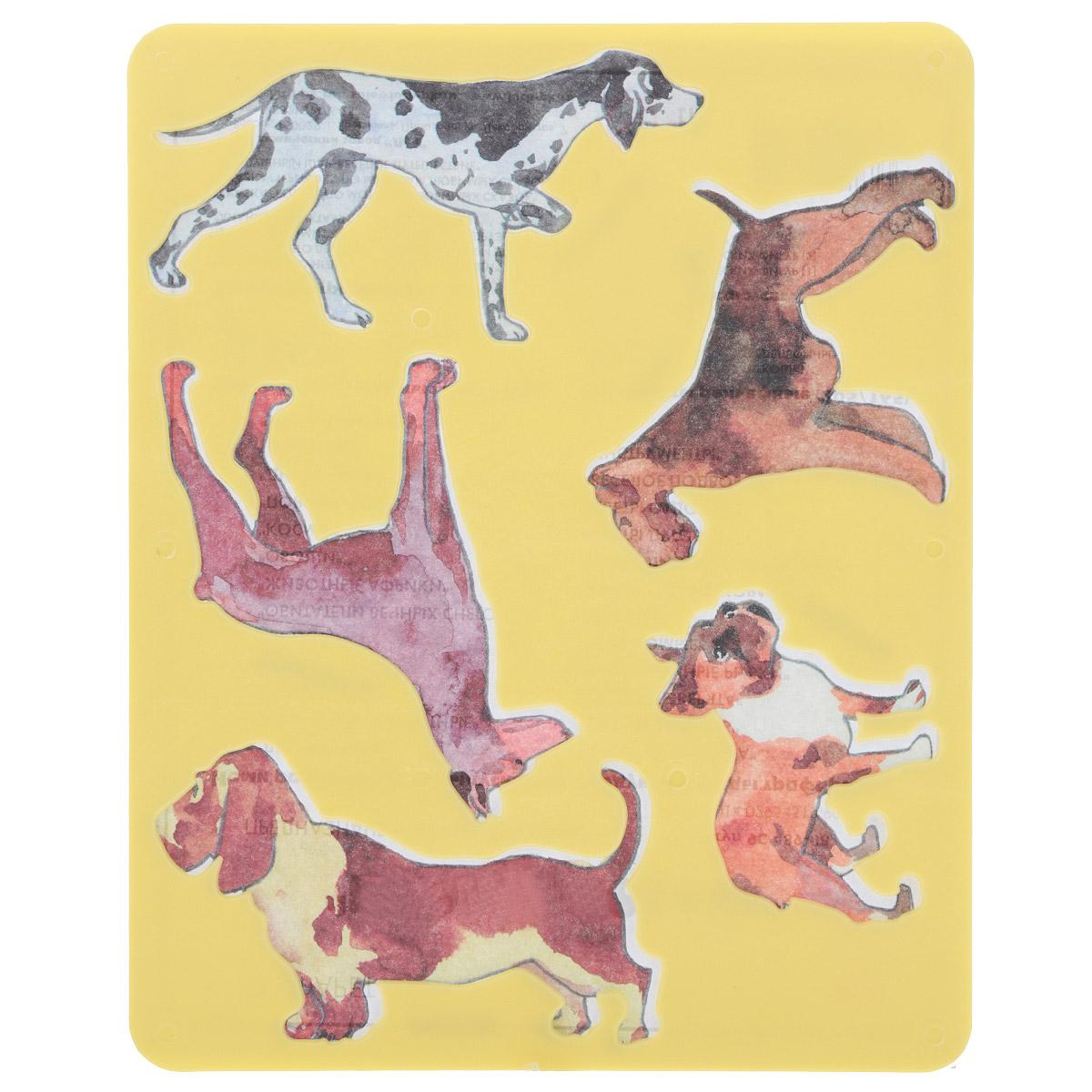Трафарет прорезной Луч Породы собак, цвет: желтый9С 489-08Трафарет Луч Породы собак, выполненный из безопасного пластика, предназначен для детского творчества. По трафарету маленький художник сможет нарисовать и различные породы собак, и сюжетные картинки с ними. Для этого необходимо положить трафарет на лист бумаги, обвести фигуру по контуру и раскрасить по своему вкусу или глядя на цветную картинку-образец. Трафареты предназначены для развития у детей мелкой моторики и зрительно-двигательной координации, навыков художественной композиции и зрительного восприятия.