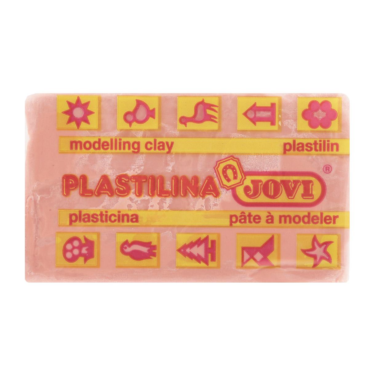Jovi Пластилин, цвет: бледно-розовый, 50 г