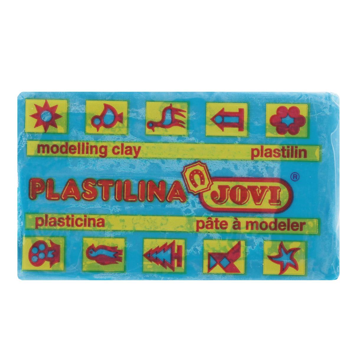 Jovi Пластилин, цвет: голубой, 50 г70/30U_голубойПластилин Jovi - лучший выбор для лепки, он обладает превосходными изобразительными возможностями и поэтому дает простор воображению и самым смелым творческим замыслам. Пластилин, изготовленный на растительной основе, очень мягкий, легко разминается и смешивается, не пачкает руки и не прилипает к рабочей поверхности. Пластилин пригоден для создания аппликаций и поделок, ручной лепки, моделирования на каркасе, пластилиновой живописи - рисовании пластилином по бумаге, картону, дереву или текстилю. Пластические свойства сохраняются в течение 5 лет.