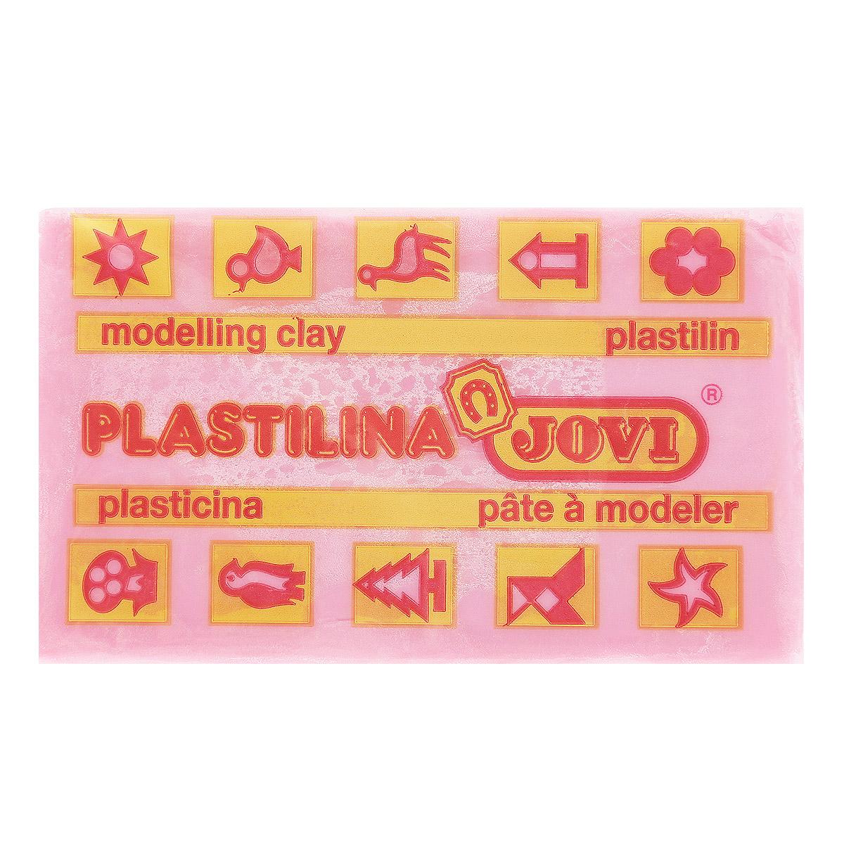 Jovi Пластилин, цвет: розовый, 50 г