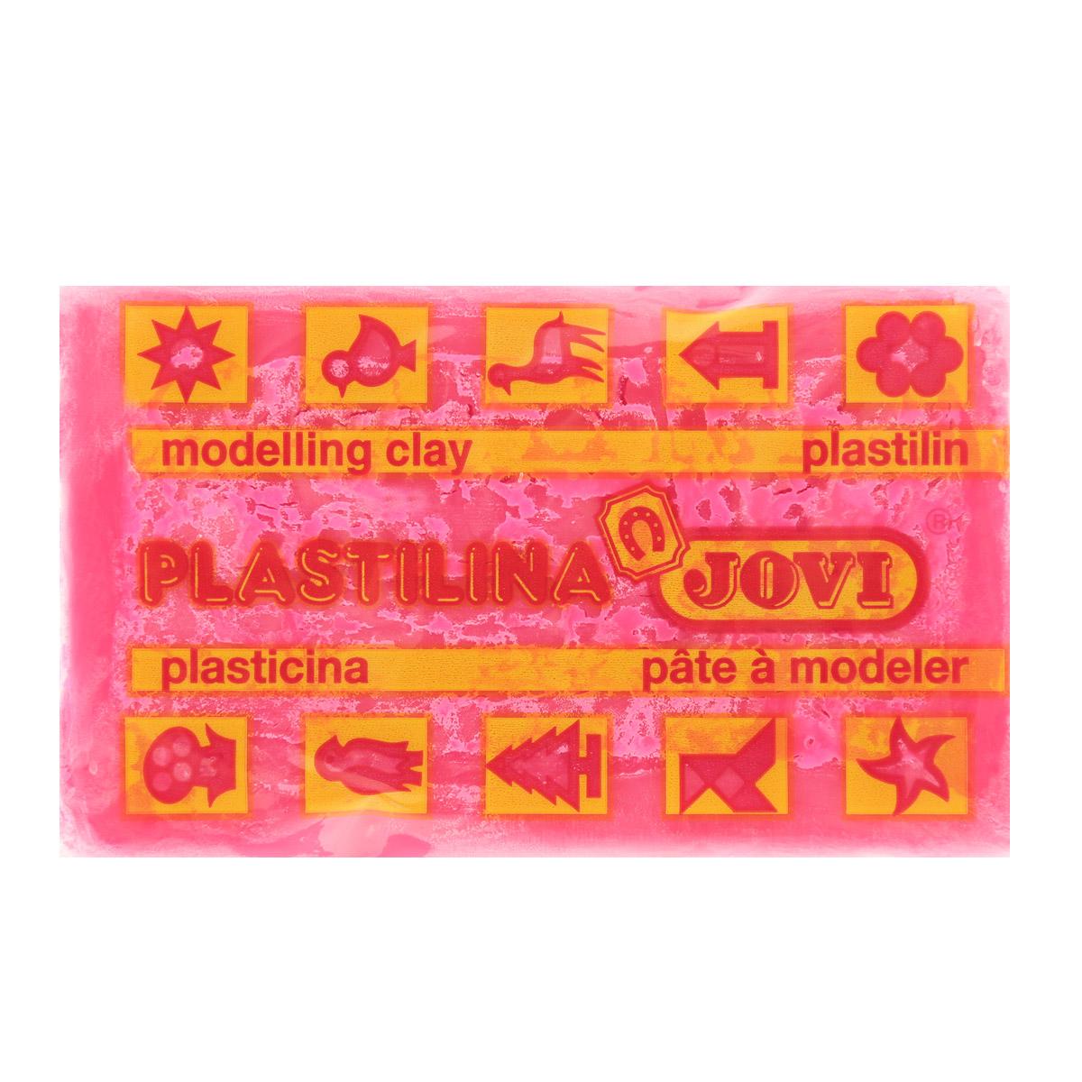 Пластилин Jovi, флюоресцентный, цвет: малиновый, 50 г70F-U_малиновыйПластилин Jovi - лучший выбор для лепки, он обладает превосходными изобразительными возможностями и поэтому дает простор воображению и самым смелым творческим замыслам. Пластилин, изготовленный на растительной основе, очень мягкий, легко разминается и смешивается, не пачкает руки и не прилипает к рабочей поверхности. Пластилин пригоден для создания аппликаций и поделок, ручной лепки, моделирования на каркасе, пластилиновой живописи - рисовании пластилином по бумаге, картону, дереву или текстилю. Пластические свойства сохраняются в течение 5 лет.