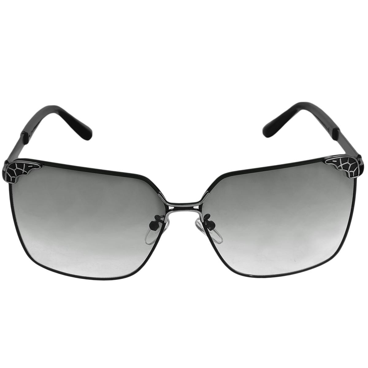 Солнцезащитные очки женские Selena, цвет: черный. 8003137180031371Солнцезащитные очки Selena, выполненные с линзами из высококачественного пластика PC с зеркальным эффектом fresh mirror, оправа оформлена декоративным узором рептилия. Используемый пластик не искажает изображение, не подвержен нагреванию и вредному воздействию солнечных лучей. Линзы данных очков с высокоэффективным UV-фильтром обеспечивают полную защиту от ультрафиолетовых лучей. Металлическая оправа очков легкая, прилегающей формы и поэтому не создает никакого дискомфорта. Такие очки защитят глаза от ультрафиолетовых лучей, подчеркнут вашу индивидуальность и сделают ваш образ завершенным.