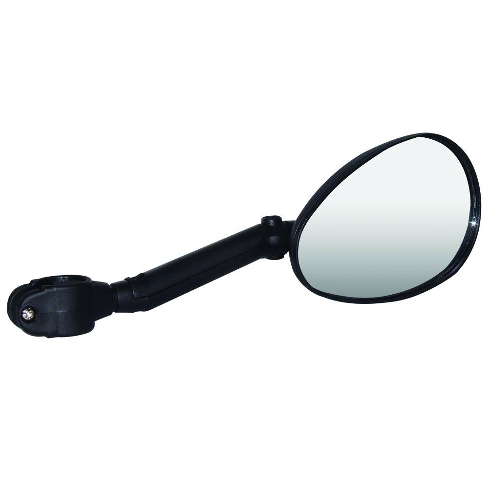 Зеркало для велосипеда Larsen, цвет: черныйDX-222LHЗеркало для велосипеда Larsen предназначено для обеспечения безопасности велосипедиста и предотвращения аварий. Корпус выполнен из прочного пластика. Зеркало крутится вокруг своей оси, а также его можно наклонять благодаря шарниру. Крепится на руль. Размер зеркала: 12 см х 7,5 см.