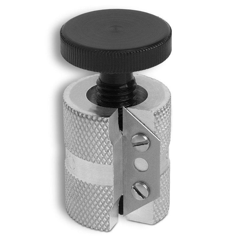 Инструмент для обработки наклейки Joe Porpers Mushroom Grazer3317Инструмент для обработки наклейки Joe Porpers Mushroom Grazer предназначен для обработки краев наклейки диаметром до 14 мм при появлении у нее формы грибной шляпки. Выполнен из высококачественной стали и пластика.