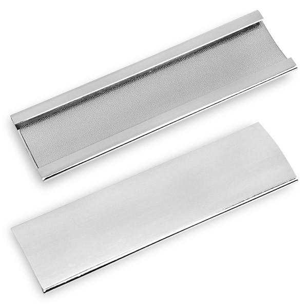 Инструмент для обработки наклейки Tip Sander5012Инструмент Tip Sander применяется как для формовки наклеек, так и для поддержания их в рабочем (шероховатом) состоянии. Выполнен из прочного металла. Внутренняя поверхность покрыта микроскопическими шипами, работающими как наждак. В комплекте тканевый мешочек для переноски и хранения.