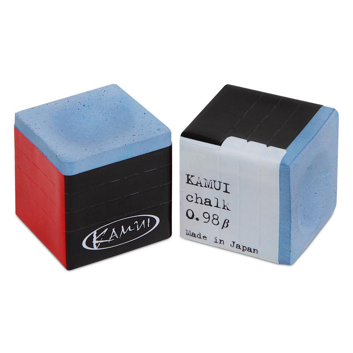 Мел Kamui, цвет: синий06662Мел Kamui произвел революцию в бильярдном мире. Игроки получили возможность усовершенствовать технику своей игры, делая более точные удары, избегая кикса. Секрет – в необыкновенных качествах мела, состоящего из мельчайших фракций, обладающего высокой степенью сцепления и увеличивающего площадь контакта наклейки кия с битком. Также благодаря наибольшей проникающей способности этот мел дольше остается на наклейке кия, поэтому нет необходимости ее мелить перед каждым ударом.