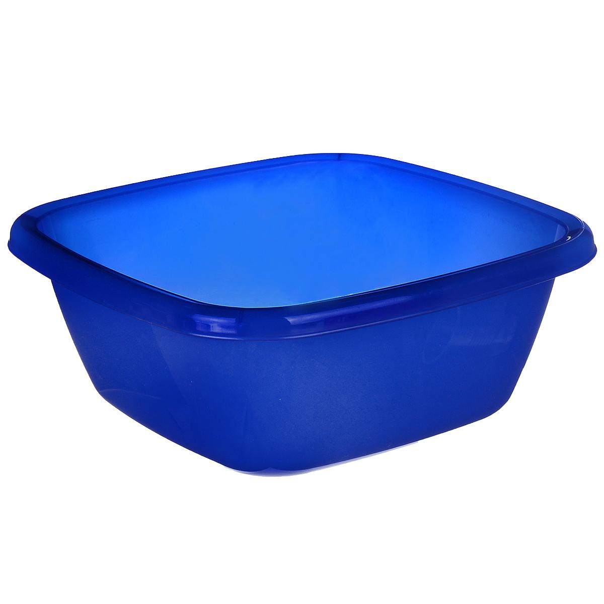Таз Dunya Plastik, цвет: синий, 6 л. 1011710117 синийКвадратный таз Dunya Plastik выполнен из прочного пластика. Он предназначен для стирки и хранения разных вещей. По краю имеются углубления, которые обеспечивают удобный захват. Такой таз пригодится в любом хозяйстве.