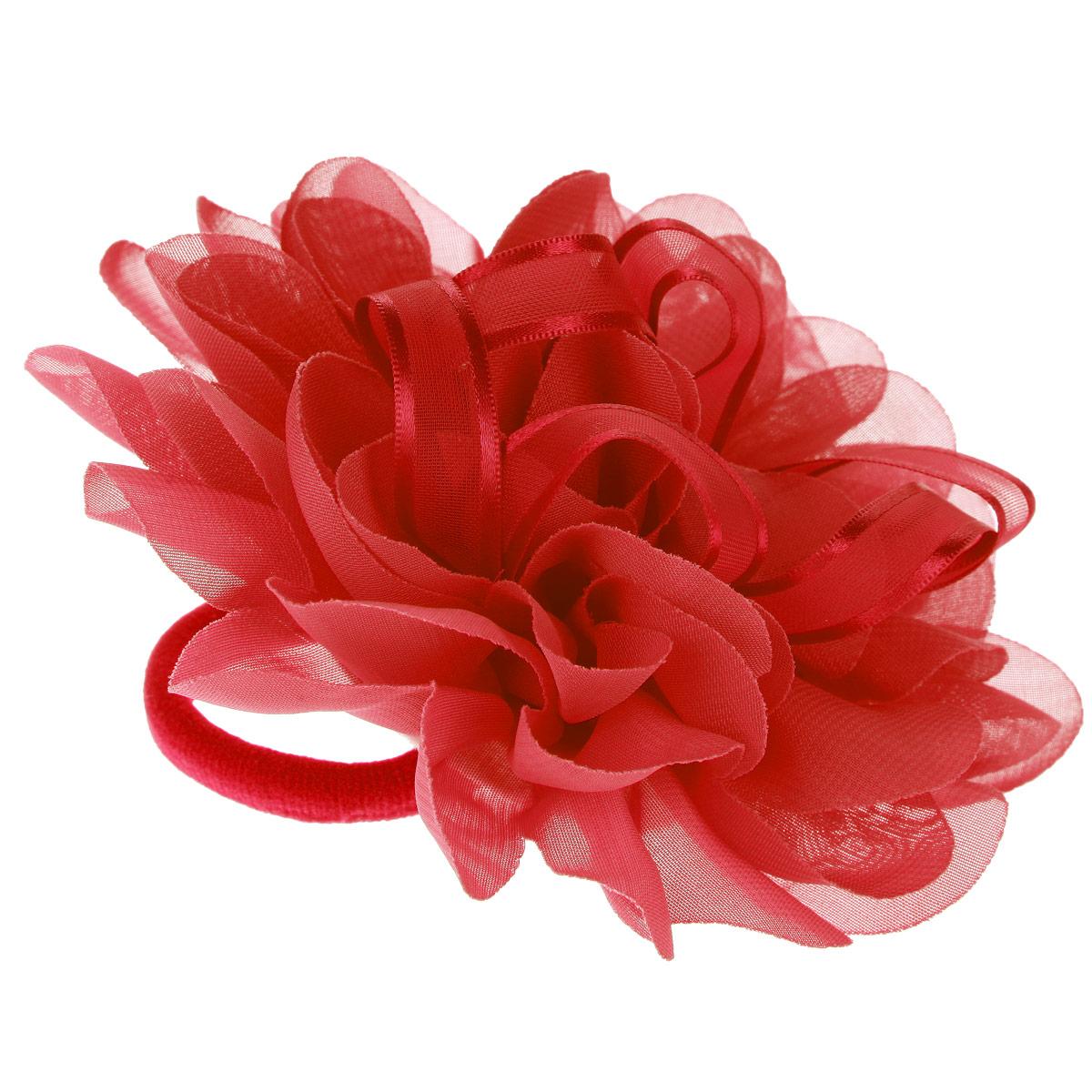Baby's Joy Резинка для волос, цвет: красный. DB 355