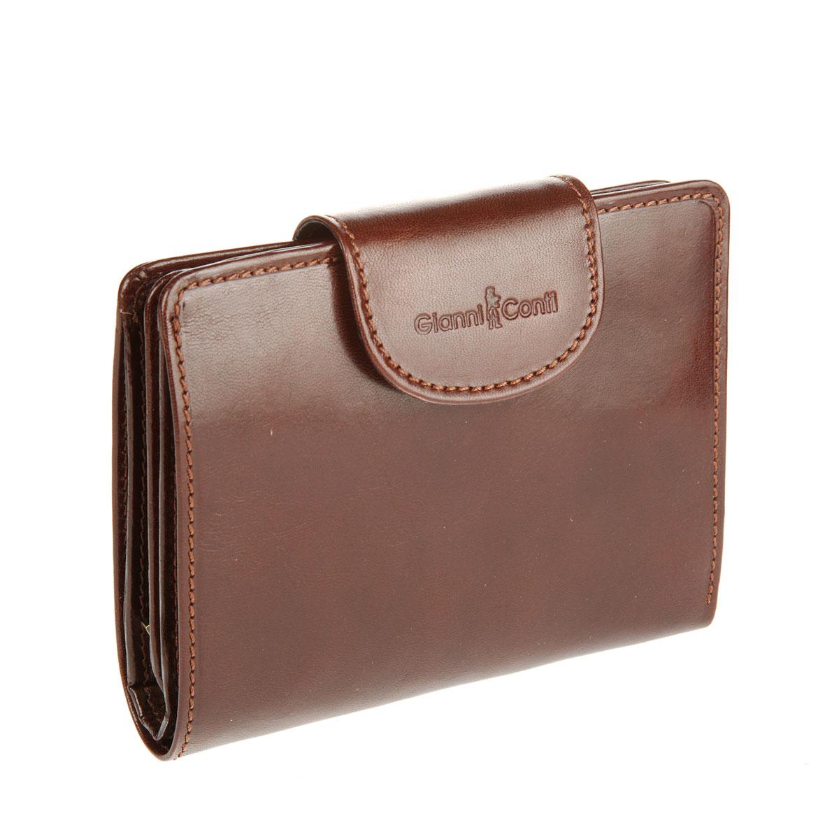 Портмоне мужское Gianni Conti, цвет: коричневый. 908029 908029 brown