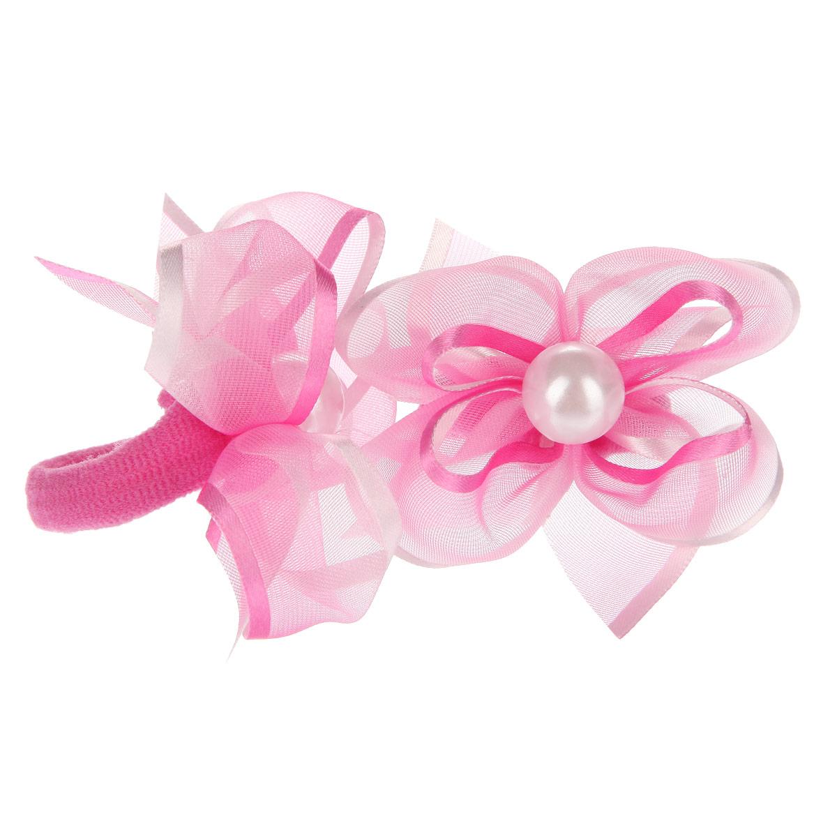 Набор резинок для волос Babys Joy, цвет: розовый, 2 шт. MN 203/2MN 203/2Набор резинок для волос Babys Joy содержит две резинки, которые выполнены в виде цветков из текстиля, атласной ленты, органзы и в центре оформлены пластиковыми бусинами. Набор резинок для волос Babys Joy подчеркнет красоту прически вашей маленькой модницы.