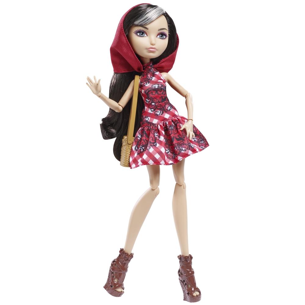Ever After High Кукла Волшебный пикник Чериз ХудCLL49_CLD85_CLD85Очаровательная куколка Ever After High Волшебный пикни. Чериз Худ обязательно привлечет внимание вашей маленькой любительницы сказок и волшебства. Чериз Худ с подружками собирается на волшебный пикник! Дочь Красной Шапочки выглядит потрясающе в красном клетчатом платье с причудливыми черными узорами, силуэтами волков и ее любимым красным капюшоном. Длинные волосы мягкие и послушные, их приятно расчесывать и создавать различные прически. Восхитительный образ для пикника дополняют стильные ботильоны и оригинальная сумочка. Порадуйте свою дочурку таким замечательным подарком!