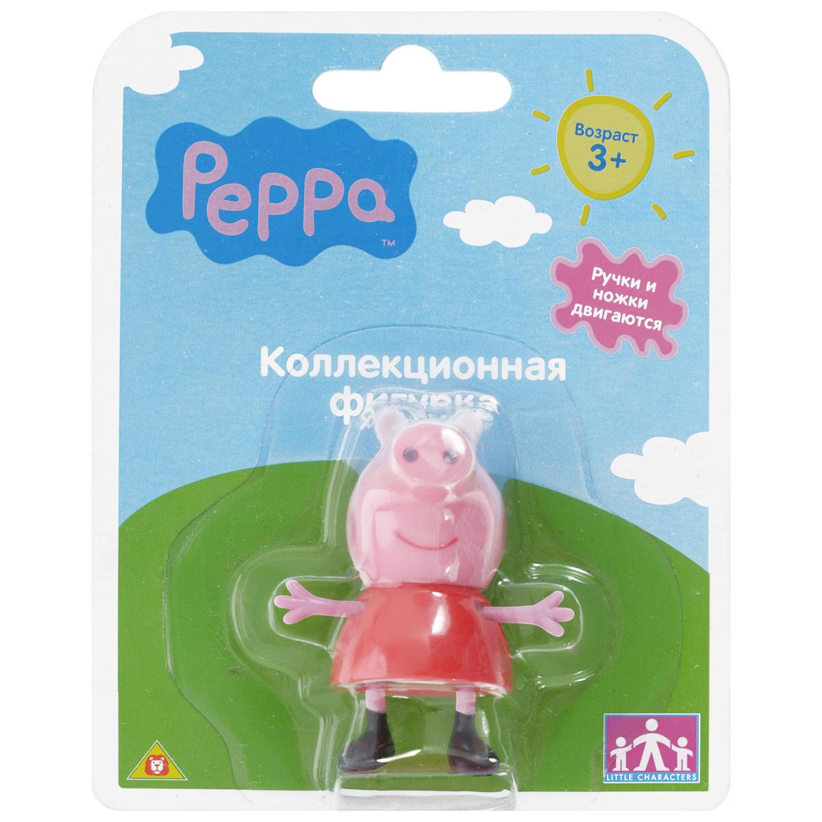 Фигурка Peppa Pig Любимый персонаж. Хрюша, цвет: красный15555_красныйФигурка Peppa Pig Любимый персонаж. Хрюша, созданная по мотивам мультсериала Peppa Pig привлечет внимание вашего малыша и станет для него любимой игрушкой, он будет часами играть с фигуркой, придумывая различные истории с участием любимого героя. Ручки и ножки фигурки подвижны. Игра с фигуркой разовьет воображение, мелкую моторику рук ребенка, поможет овладеть навыками общения и научит ролевым играм. Порадуйте его таким замечательным подарком! Пеппа - это веселая свинка из доброго, смешного и познавательного мультипликационного сериала Peppa Pig. Она играет с братиком Джорджем и своими друзьями, обожает прыгать в лужах, наряжаться. Каждая серия - это новое приключение свинки, которое несет полезные знания маленьким зрителям. А теперь они могут не только смотреть на этих забавных персонажей, но и играть с ними! Дети будут рады перевоплотиться в свинку Пеппу, маленького Джорджа, овечку Сьюзи или кролика Ребекку. Такая сюжетно-ролевая игра - настоящая...