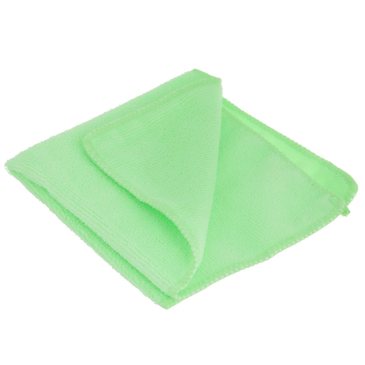 Салфетка из микрофибры для уборки Youll Love, цвет: салатовый, 30 х 30 см 5804358043_салатовыйСалфетка Youll Love, изготовленная из полиэфира, предназначена для очищения загрязнений на любых поверхностях. Изделие обладает высокой износоустойчивостью и рассчитано на многократное использование, легко моется в теплой воде с мягкими чистящими средствами. Супервпитывающая салфетка не оставляет разводов и ворсинок, удаляет большинство жирных и маслянистых загрязнений без использования химических средств. Размер салфетки: 30 см х 30 см.