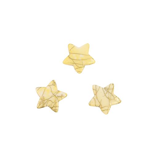 Бусины Астра Цветные камешки, цвет: шампань (6-31), 15 мм х 15 мм х 4 мм, 48 шт7710780_6-31Набор бусин Астра Цветные камешки, изготовленный из пластика, позволит вам своими руками создать оригинальные ожерелья, бусы или браслеты. Бусины изготовлены в виде камешков-звездочек и имеют цветные разводы с оригинальным золотистым узором. Изготовление украшений - занимательное хобби и реализация творческих способностей рукодельницы, это возможность создания неповторимого индивидуального подарка. Размер бусины: 15 мм х 15 мм х 4 мм.