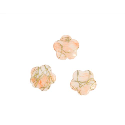 Бусины Астра Цветные камешки, цвет: персиковый (6-21), диаметр 17 мм, 50 шт7710781_6-21Набор бусин Астра Цветные камешки, изготовленный из пластика, позволит вам своими руками создать оригинальные ожерелья, бусы или браслеты. Бусины выполнены в виде камешков-цветов и имеют цветные разводы с оригинальным золотистым узором. Изготовление украшений - занимательное хобби и реализация творческих способностей рукодельницы, это возможность создания неповторимого индивидуального подарка. Диаметр бусины: 17 мм.