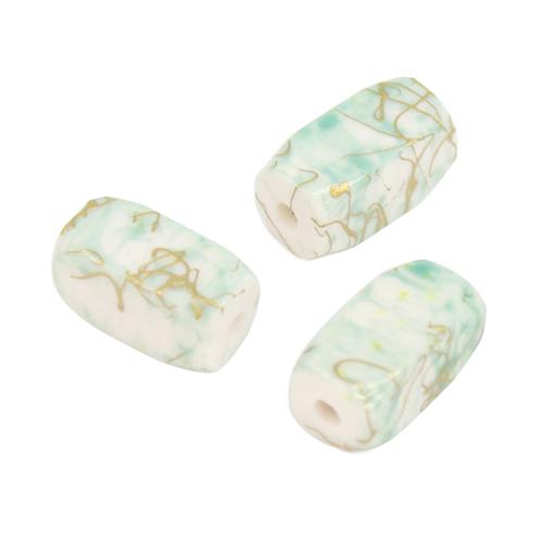 Бусины Астра Цветные камешки, цвет: зеленый (6-34), 15 мм х 7 мм, 38 шт7710783_6-34Набор бусин Астра Цветные камешки, изготовленный из пластика в виде камешков, позволит вам своими руками создать оригинальные ожерелья, бусы или браслеты. Бусины прямоугольной формы имеют цветные разводы с оригинальным золотистым узором. Изготовление украшений - занимательное хобби и реализация творческих способностей рукодельницы, это возможность создания неповторимого индивидуального подарка. Размер бусины: 15 мм х 7 мм х 7 мм.
