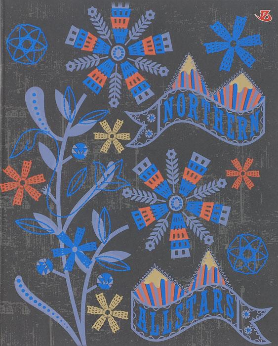 Тетрадь Seventeen Northern, цвет: серый, синий, 60 листов6653/5_СерыйТетрадь Seventeen Northern с красочным изображением на обложке подойдет для выполнения любых работ. Обложка тетради с закругленными углами изготовлена из мелованного картона. Внутренний блок тетради состоит из 60 листов высококачественной бумаги повышенной белизны. Стандартная линовка в клетку дополнена полями, совпадающими с лицевой и оборотной стороны листа.