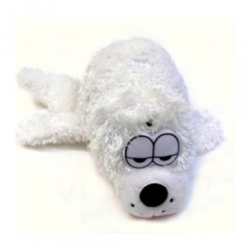 Интерактивная плюшевая игрушка Смеющийся тюлень ChericoleCTC-9827Очаровательный белый тюлень мечтает с тобой поиграть! Попробуйте его погладить и он начнёт хохотать, открывать рот и кататься из стороны в сторону. Тюлень очень любит играть с детьми. Игрушка снабжена датчиком движения, реагирующим на приближение человека. Для питания игрушки необходимы три элемента питания AA (пальчиковые батарейки).