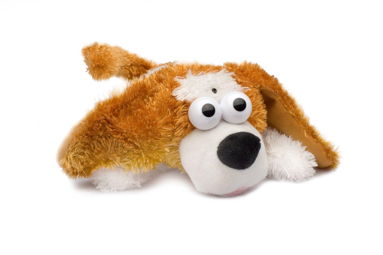 Интерактивная плюшевая игрушка Смеющаяся собака ChericoleCTC-9828Маленькая собачка хочет поиграть! Попробуйте её погладить и она начнёт хохотать, открывать рот и кататься из стороны в сторону. Собачка очень любит играть с детьми. Игрушка снабжена датчиком движения, реагирующим на приближение человека.