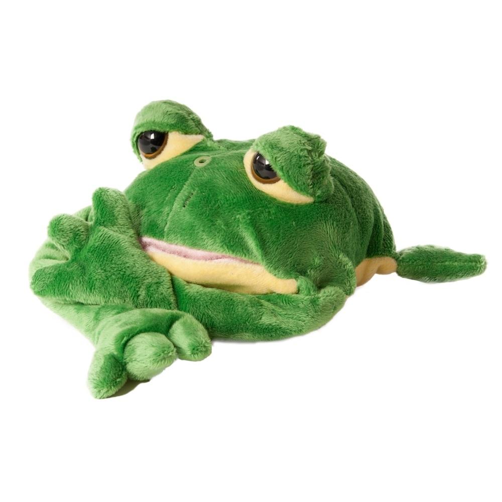 Chericole Интерактивная мягкая игрушка Смеющаяся лягушкаCTC-9825Мягкая интерактивная игрушка Chericole Смеющаяся лягушка рассмешит каждого: от малыша до взрослого человека. Ваш дом наполнится заливистым и задорным смехом этой лягушки-хохотушки. От смеха эта озорница еще и катается по полу. Ребенок будет в восторге от такой удивительной и мягкой игрушки! Необходимо купить 3 батарейки напряжением 1,5V типа АА (не входят в комплект).