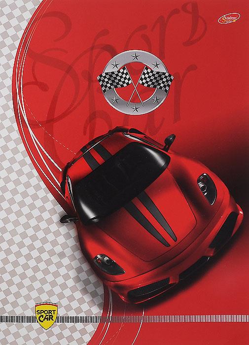 Тетрадь Sport Car Вид спереди, 80 листов, формат А4, цвет: красный5157/3_Авто-спорт Вид спередиУниверсальная тетрадь Sport Car Вид спереди подойдет как для учебы, так и для работы. Обложка тетради выполнена из мелованного картона с красочным изображением спортивного автомобиля. Внутренний блок состоит из 80 листов белой офсетной бумаги со стандартной линовкой в клетку без полей.