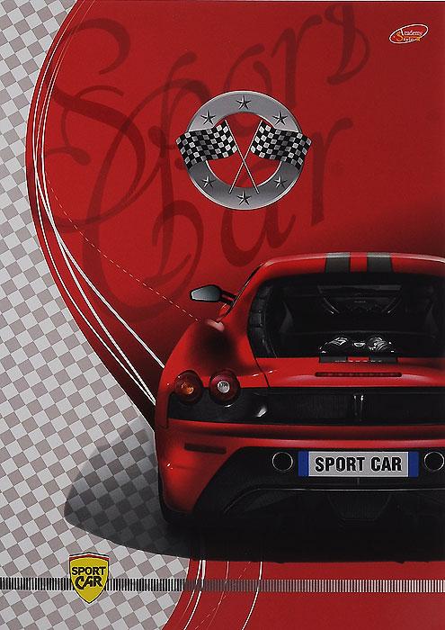 Тетрадь Sport Car Вид сзади, 80 листов, формат А4, цвет: красный5157/3_Авто-спорт Вид сзадиУниверсальная тетрадь Sport Car Вид сзади подойдет как для учебы, так и для работы. Обложка тетради выполнена из мелованного картона с красочным изображением спортивного автомобиля. Внутренний блок состоит из 80 листов белой офсетной бумаги со стандартной линовкой в клетку без полей.