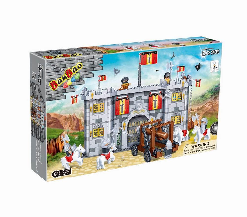 Конструктор Замок, 702 детали, 53х35х7см