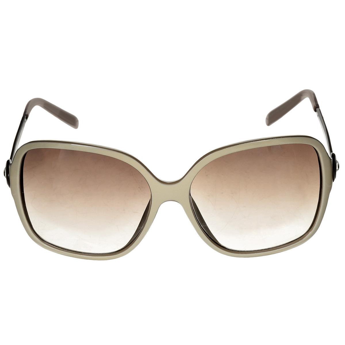 Солнцезащитные очки женские Selena, цвет: бежевый. 8002415180024151Солнцезащитные женские очки Selena, выполненные с линзами из высококачественного пластика PC с зеркальным эффектом fresh mirror, оправа оформлена стразами. Используемый пластик не искажает изображение, не подвержен нагреванию и вредному воздействию солнечных лучей. Линзы данных очков с высокоэффективным UV-фильтром обеспечивают полную защиту от ультрафиолетовых лучей. Металлическая оправа очков легкая, прилегающей формы и поэтому не создает никакого дискомфорта. Такие очки защитят глаза от ультрафиолетовых лучей, подчеркнут вашу индивидуальность и сделают ваш образ завершенным.