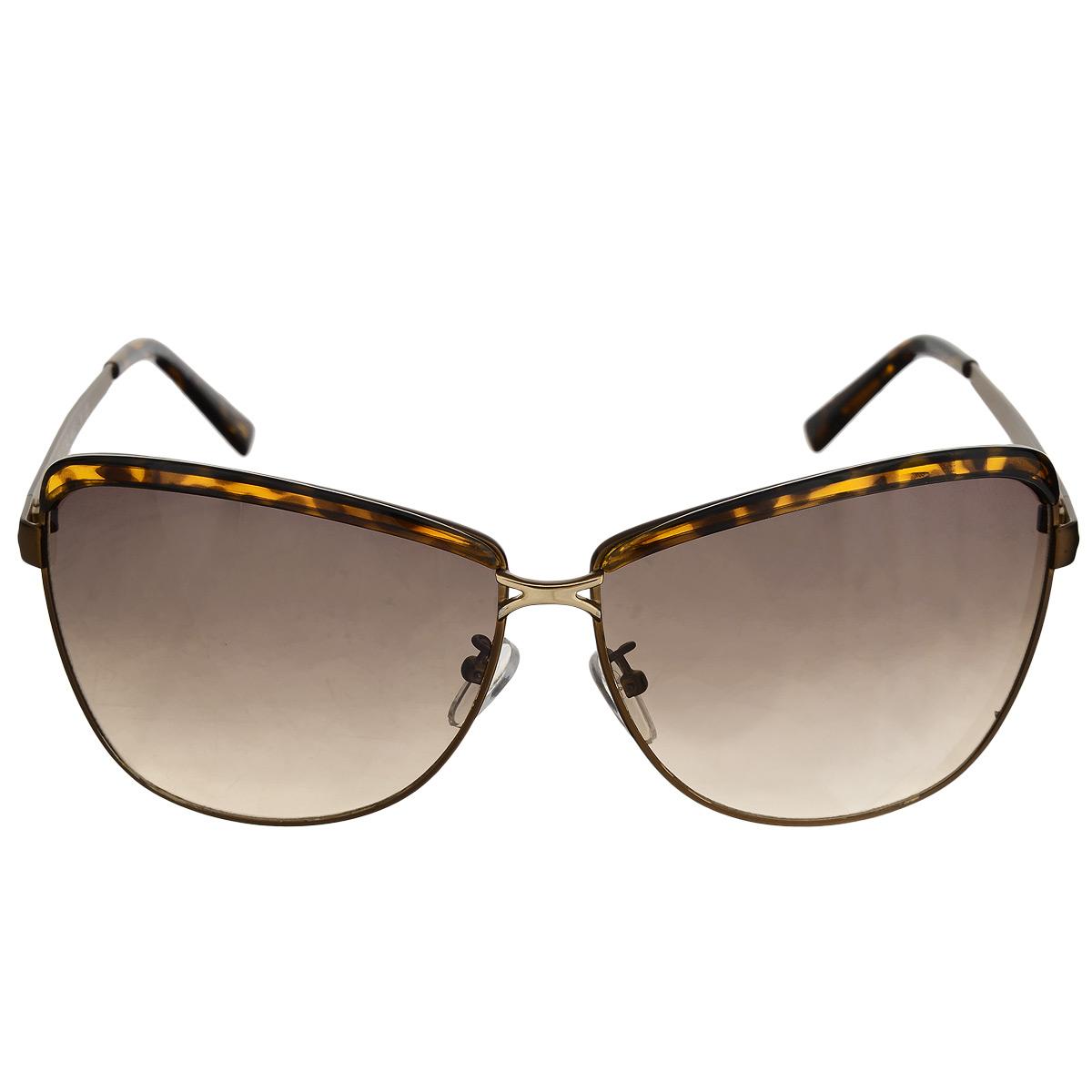 Солнцезащитные очки женские Selena, цвет: коричневый. 8002472180024721Солнцезащитные женские очки Selena, выполненные с линзами из высококачественного пластика PC с зеркальным эффектом fresh mirror. Используемый пластик не искажает изображение, не подвержен нагреванию и вредному воздействию солнечных лучей. Линзы данных очков с высокоэффективным UV-фильтром обеспечивают полную защиту от ультрафиолетовых лучей. Металлическая оправа очков легкая, прилегающей формы и поэтому не создает никакого дискомфорта. Такие очки защитят глаза от ультрафиолетовых лучей, подчеркнут вашу индивидуальность и сделают ваш образ завершенным.