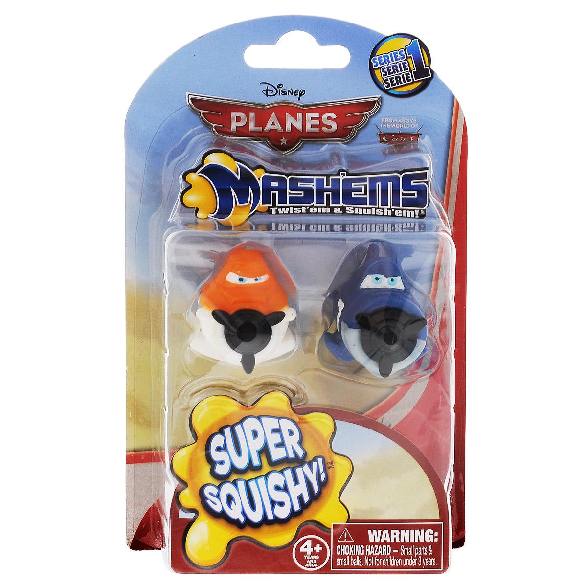 Игрушки-мялки MashEms Самолеты52221-0000012-01Игрушки-мялки Самолеты непременно понравятся вашему малышу! Игрушка выполнена в виде двух забавных самолетиков - героев знаменитого мультфильма Самолеты. Игрушки выполнены из безопасной термопластичной резины с жидким наполнителем, благодаря чему их можно сжимать, крутить, кидать - а они всегда будут возвращаться в первоначальный вид. Игрушки-мялки способствуют развитию мелкой моторики пальцев рук, развивает творческое мышление, укрепляет кистевые мышцы рук, создает позитивный эмоциональный фон и является замечательным антистрессом. Порадуйте своего ребенка таким замечательным подарком!