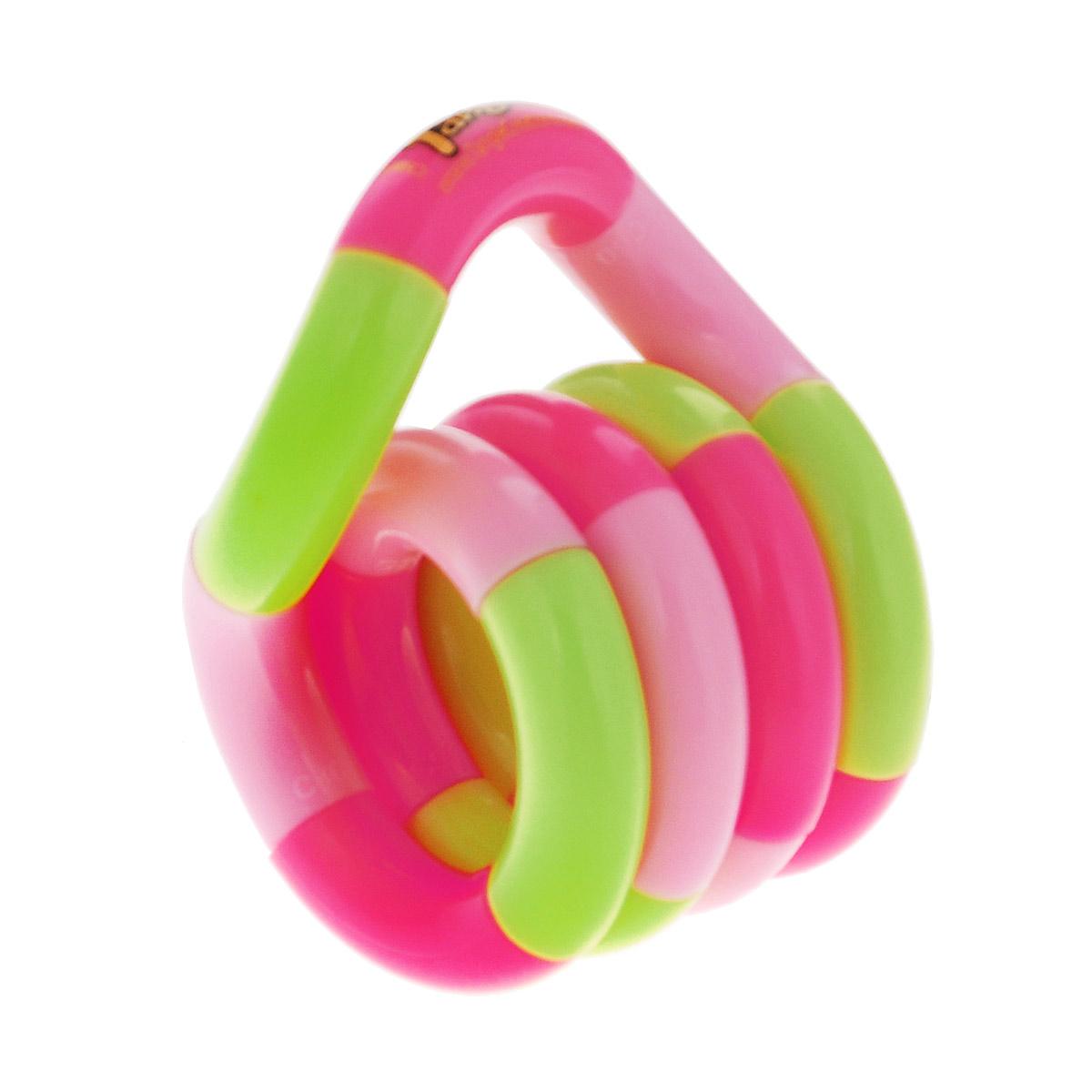 """Змейка """"Tangle. Классик"""", цвет: салатовый, розовый"""