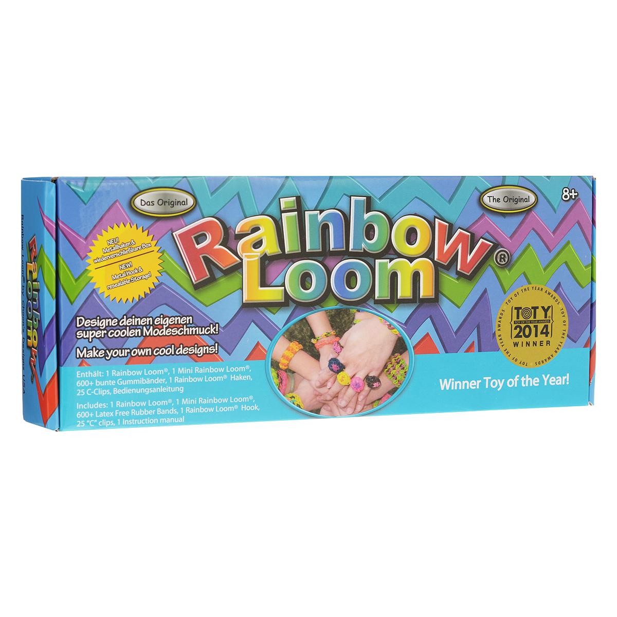 """Набор для плетения браслетов """"Rainbow Loom"""""""