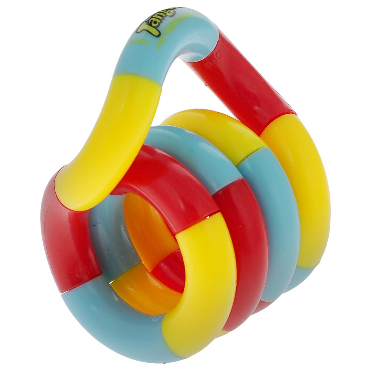 """Змейка """"Tangle. Классик"""", цвет: красный, желтый, голубой"""