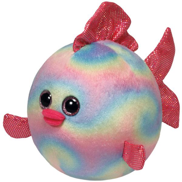 TY Мягкая игрушка Рыбка Rainbow 10 см ( 38119 )
