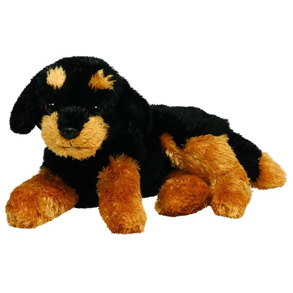 TY Мягкая игрушка Щенок ротвейлер Brutus 14 см ( 40482 )
