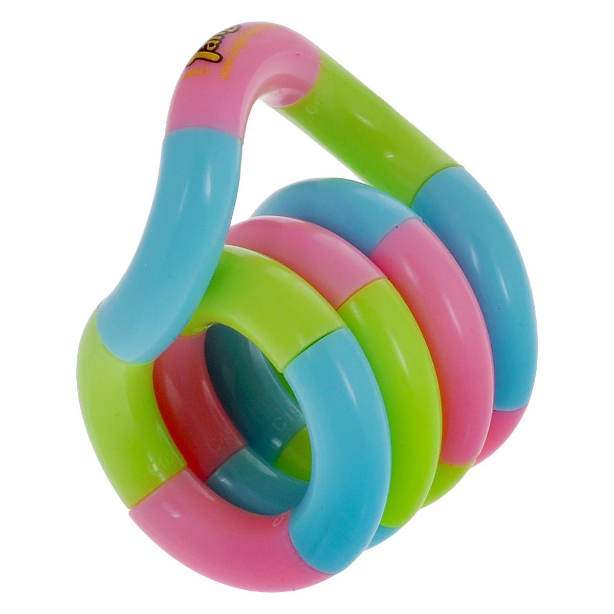 """Змейка """"Tangle. Классик"""", цвет: голубой, салатовый, розовый"""