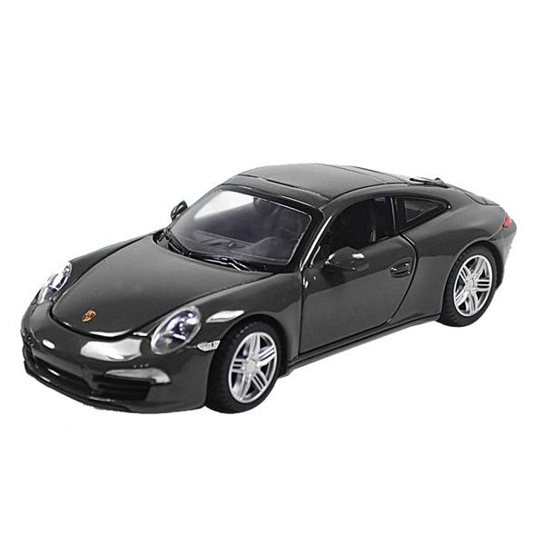 Rastar Модель автомобиля Porsche 911 Carrera S цвет черный56200Все дети хотят иметь в наборе своих игрушек ослепительные, невероятные и крутые автомобили на радиоуправлении. Тем более если это автомобиль известной марки с проработкой всех деталей, удивляющий приятным качеством и видом. Это авто обладает неповторимым провокационным стилем и спортивным характером. А серьезные габариты придают реалистичность в управлении. Автомобиль отличается потрясающей маневренностью, динамикой и покладистостью.