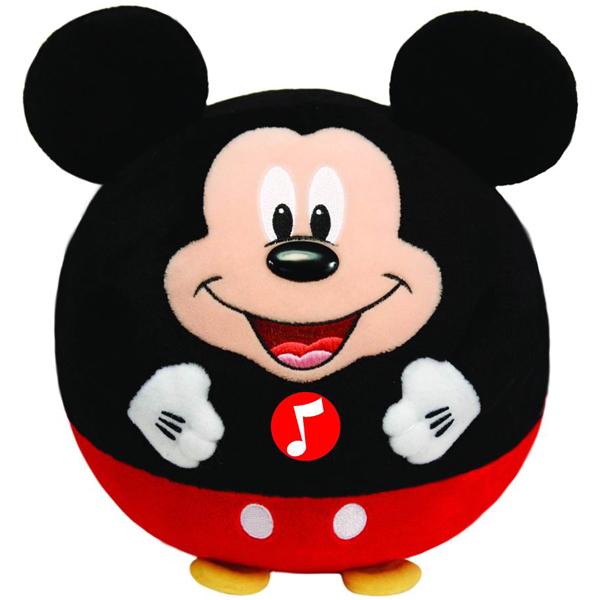 TY Мягкая игрушка Disney Ballz Mickey цвет черный красный 13 см ( 58101 )