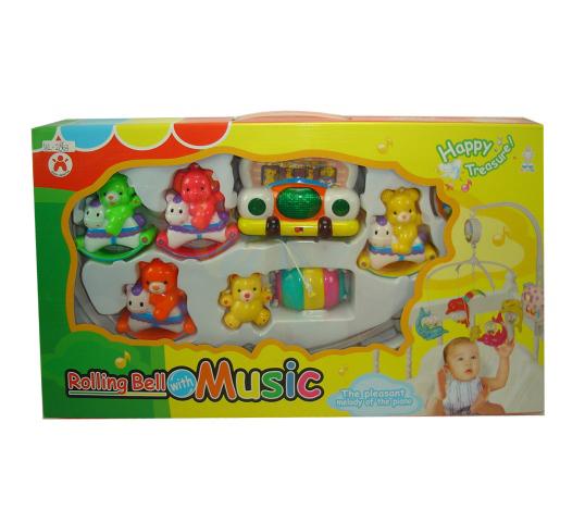 Junfa Toys Музыкальный мобиль Веселые животные ( 5403 )