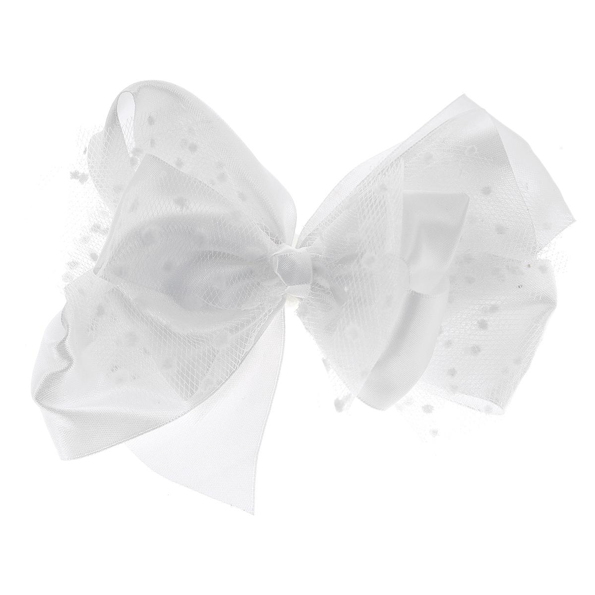 Резинка для волос Babys Joy, цвет: белый. MN 192MN 192