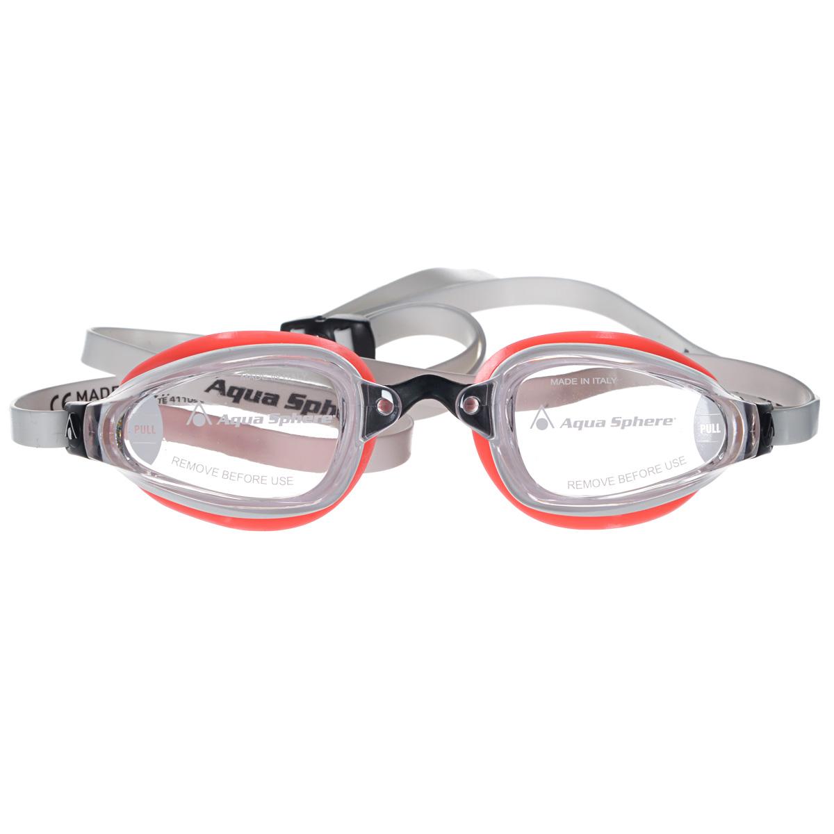 Очки для плавания Aqua Sphere K180 Lady, цвет: белый, розовыйTN 173280Aqua Sphere K180 Lady - это первые очки для скоростного плавания, обладающие панорамным обзором в 180°, который достигается благодаря очень близкому расположению линз к глазам. Благодаря сменным перемычкам можно менять расстояние между линзами. Очки дают 100% защиту от ультрафиолетового излучения. В комплекте 3 сменных перемычки.