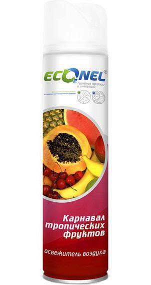 Освежитель воздуха Econel Карнавал тропических фруктов870165Освежитель воздуха Econel Карнавал тропических фруктов