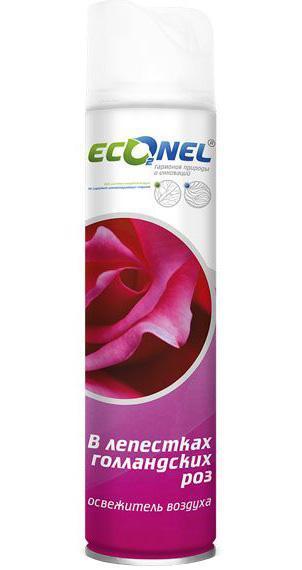 Освежитель воздуха Econel В лепестках голландских роз, 300 мл870166Освежитель воздуха Econel В лепестках голландских роз